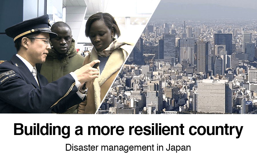 Building a more resilient country: Disaster management in Japan